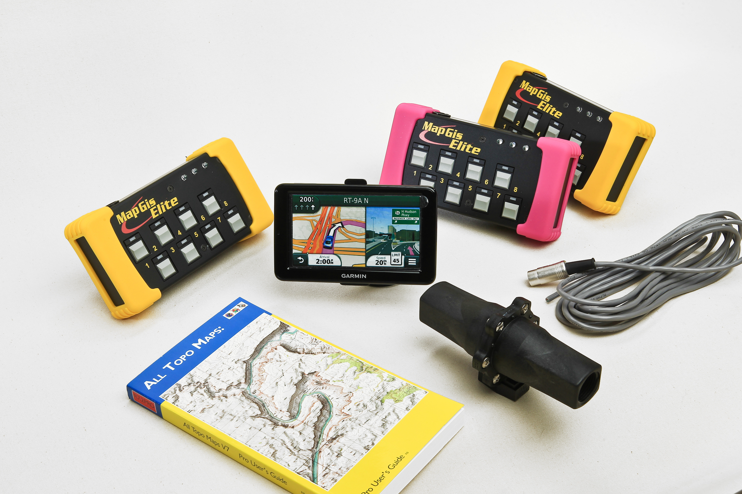 2 MAP Datalogger Units w/multi pad